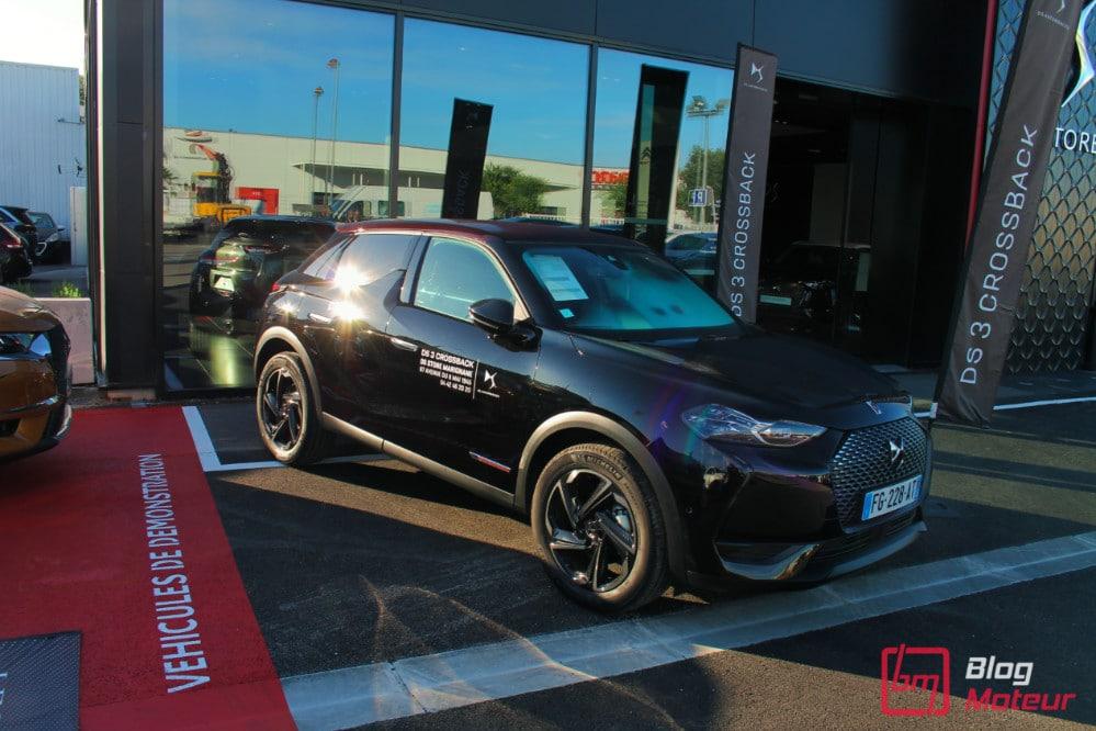 Vue parking DS Store Marignane