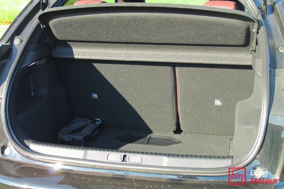 Essai DS 3 Crossback - Coffre : 350 à 1.050 litres
