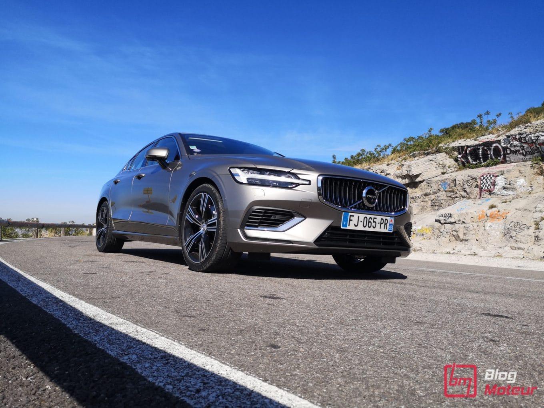 Essai Volvo S60 - Hybride rechargeable - vue sommet Col de l'Espigoulier