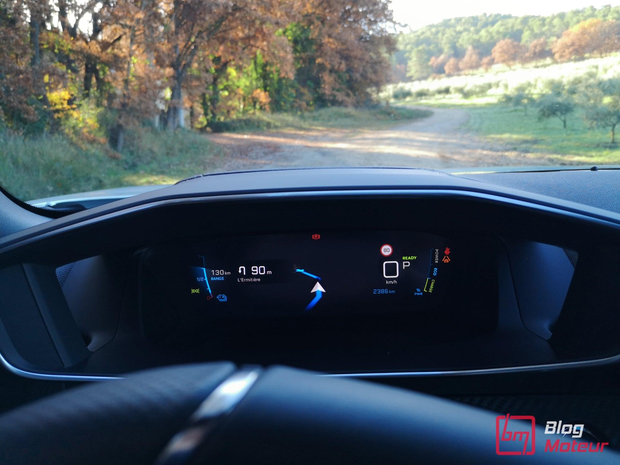2008 first test drive - e-2008 électrique i-cockpit 3D