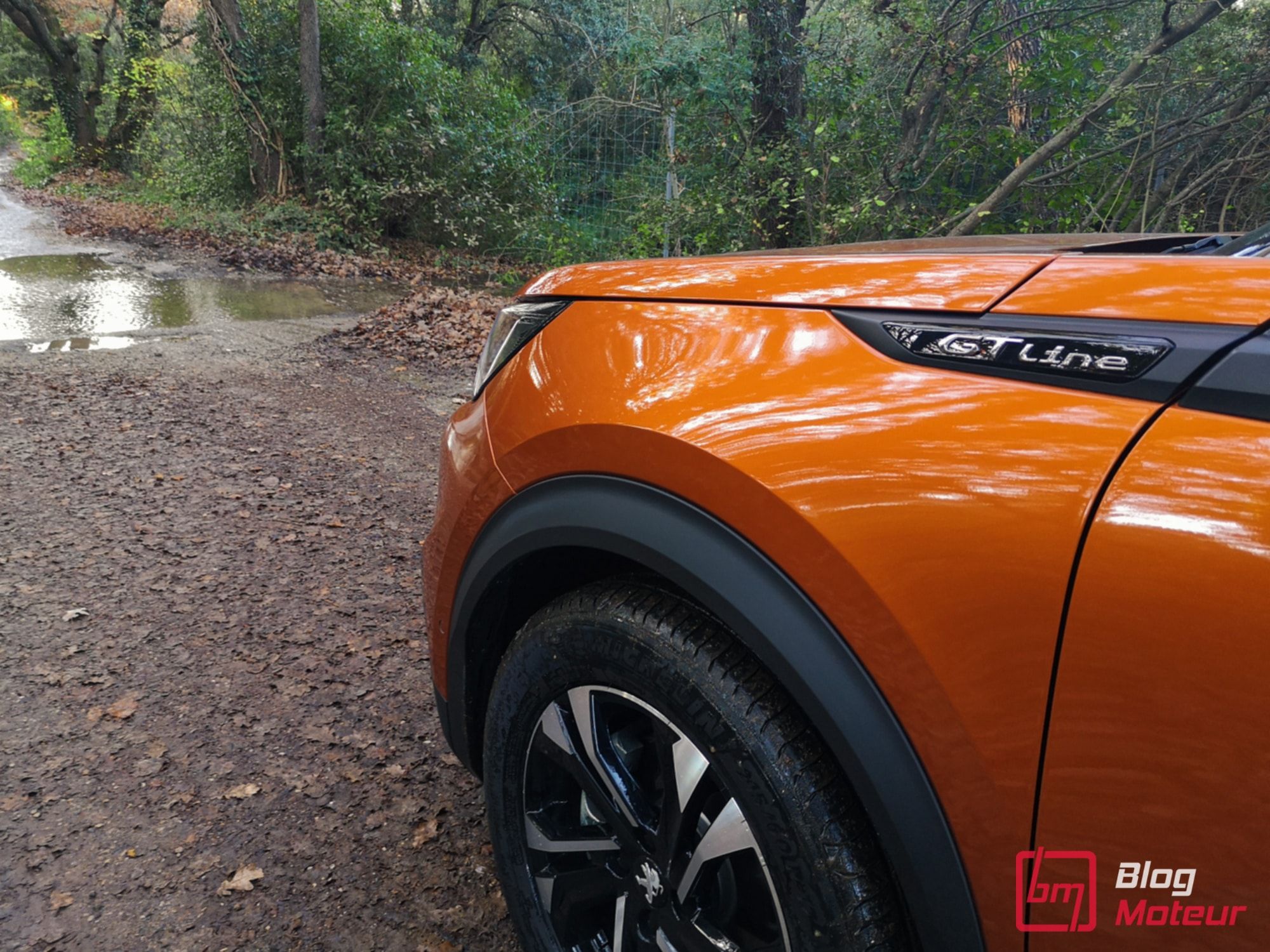 2008 et e-2008 first test drive - finition GT Line Fusion Orange