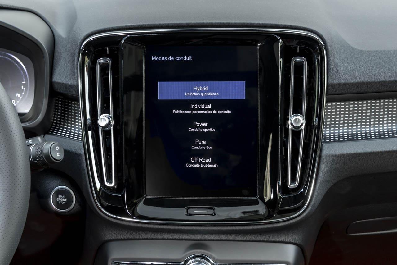 Volvo XC40 Recharge T5 5 Modes Conduite