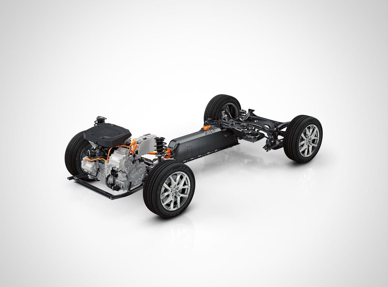 Volvo XC40 Recharge T5 plateforme CMA