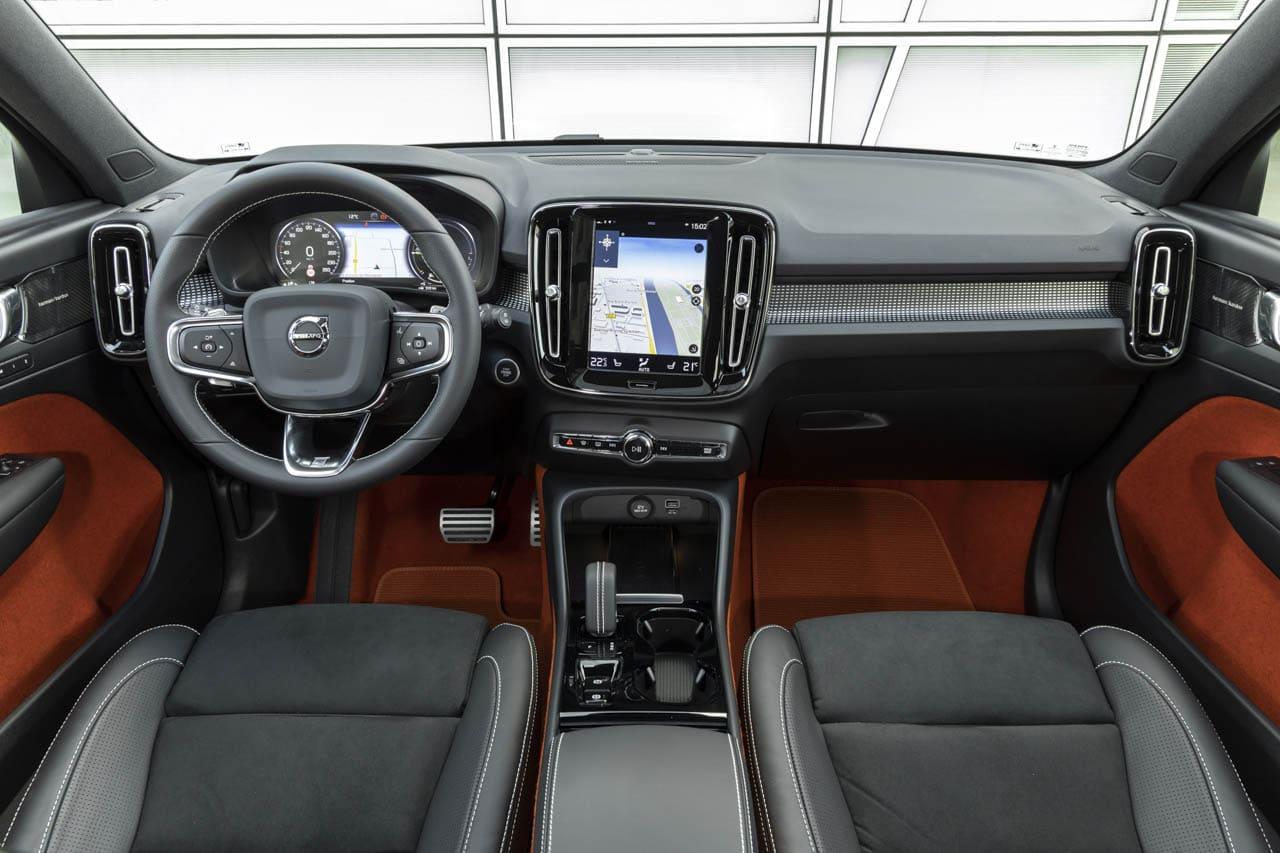 Volvo XC40 Recharge hybride T5 Interieur