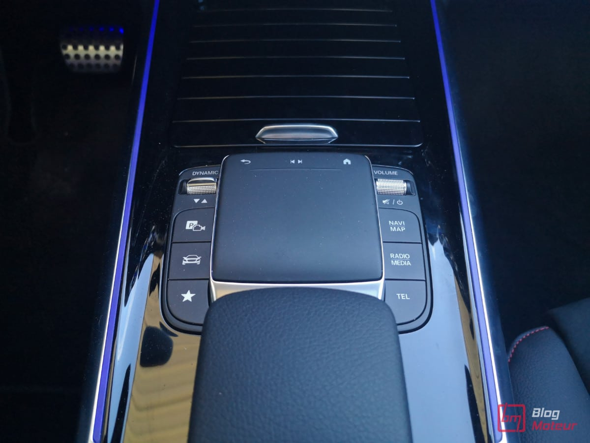 TouchPad Controle Mercedes