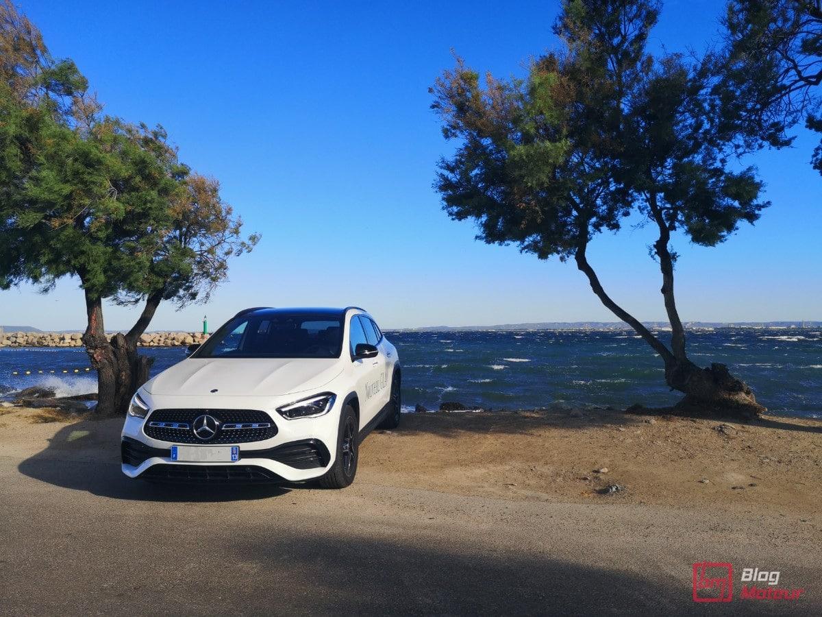 Comportement routier parfait Mercedes GLA