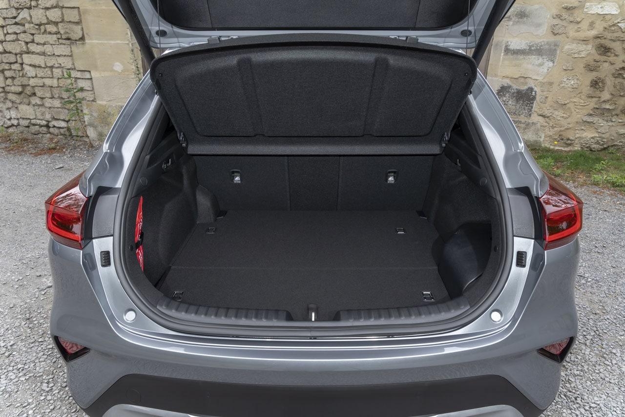 Coffre Kia XCeed Hybride 291L