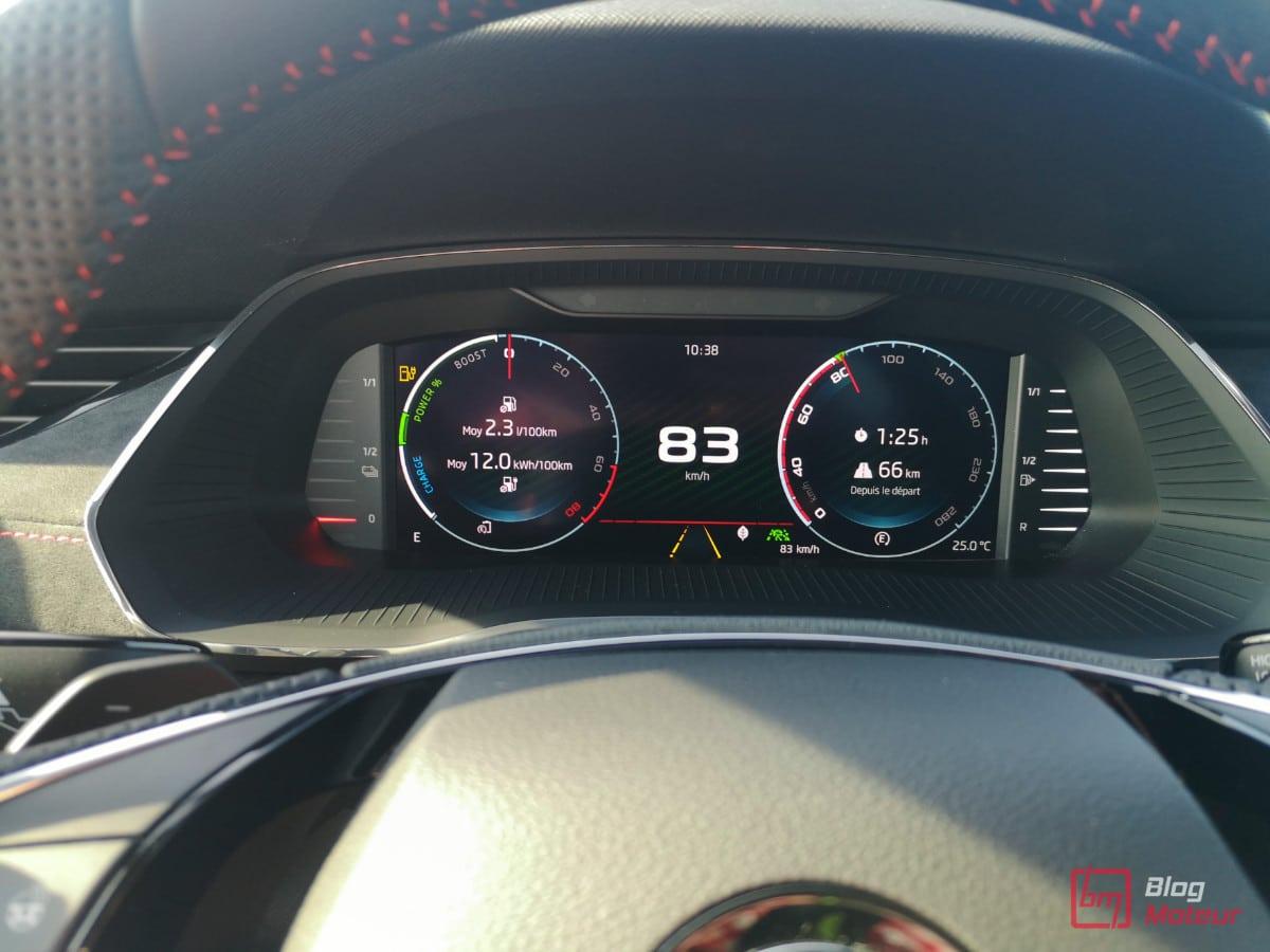 autonomie 60km octavia RS iV