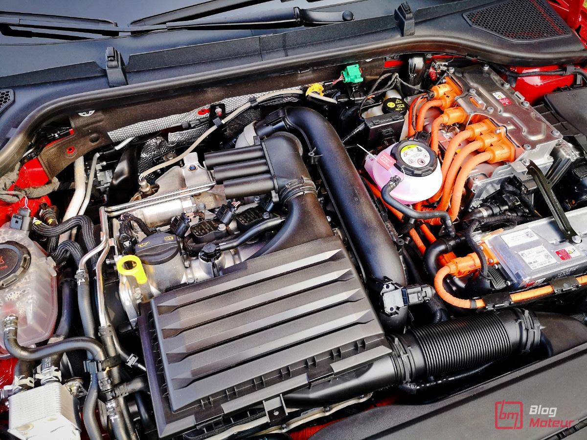 moteur hybride skoa octavia RS iV 1.4L TSI 150ch