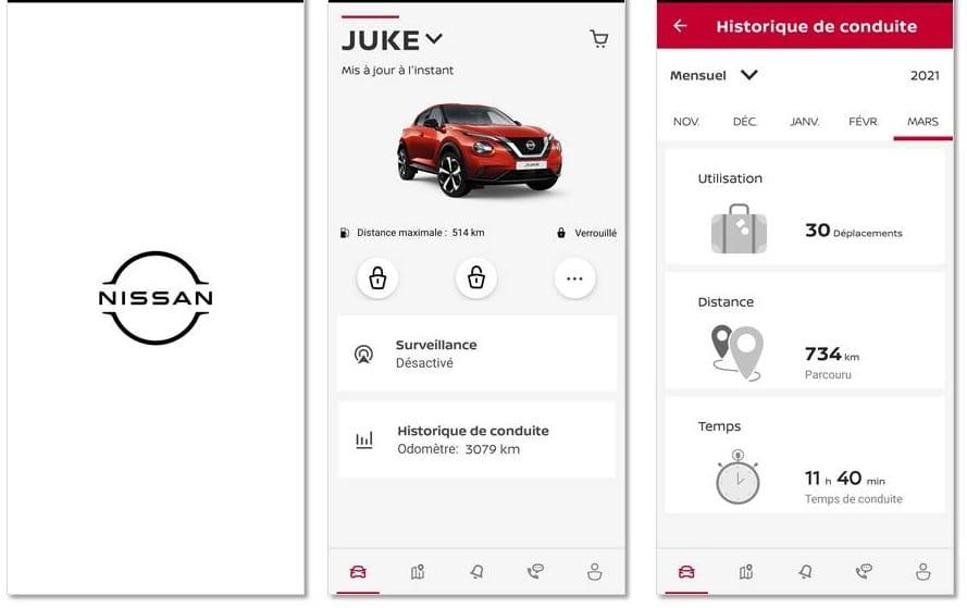 Nissan Juke en utilisation quotidienne Nissan Connect
