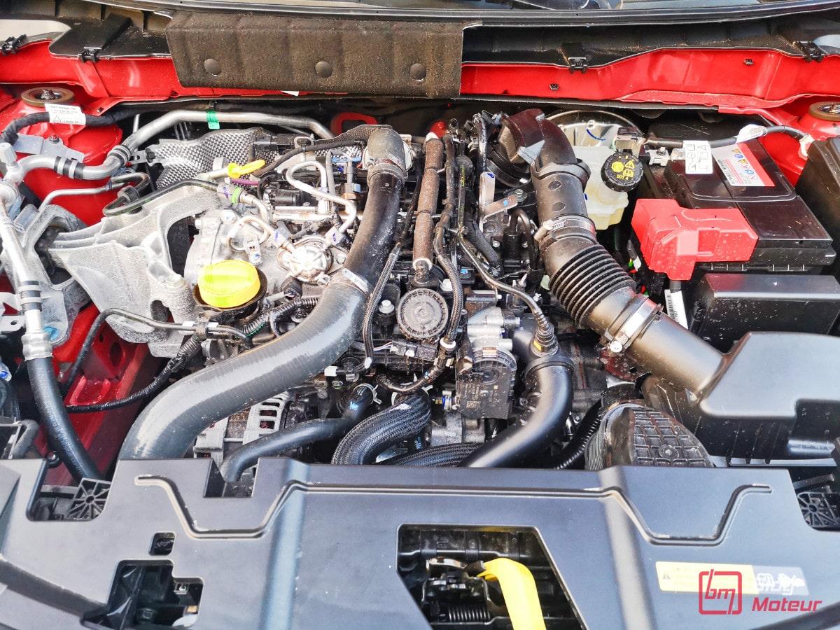 Nissan Juke en utilisation quotidienne Moteur