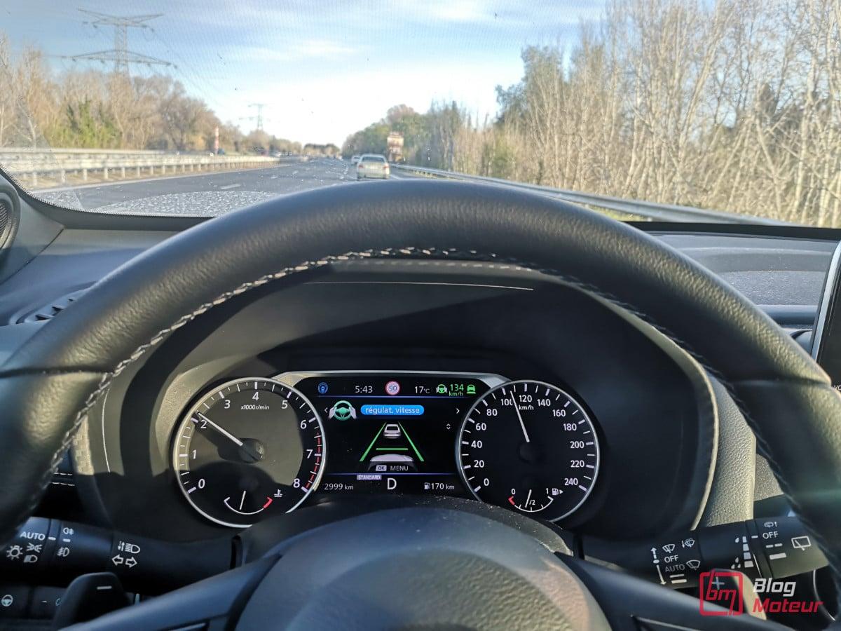 Nissan Juke en utilisation quotidienne ProPilot