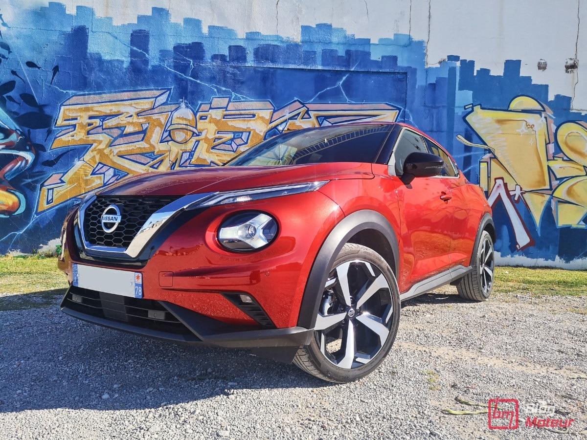 Nissan Juke en utilisation quotidienne essai longue durée