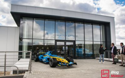 Renault Sport F1Enstone : Dans l'Antre de la Machine!